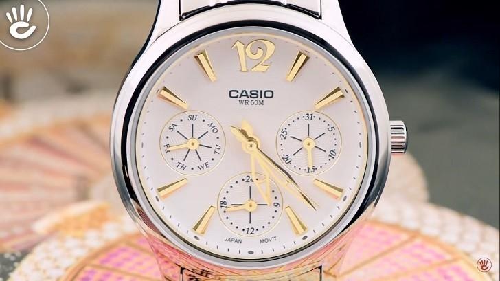 Đồng hồ Casio LTP-2085SG-7AVDF giá rẻ, thay pin miễn phí - Ảnh 2