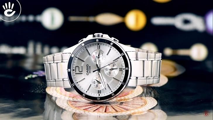 Đồng hồ Casio MTP-1374D-7AVDF giá rẻ, thay pin miễn phí - Ảnh 1