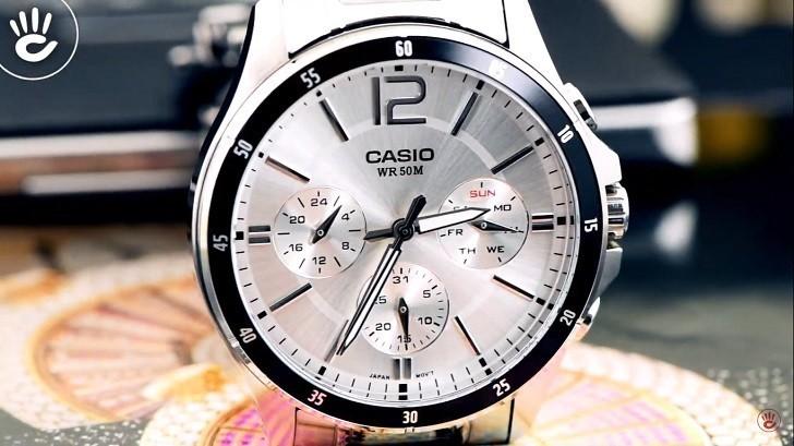 Đồng hồ Casio MTP-1374D-7AVDF giá rẻ, thay pin miễn phí - Ảnh 2