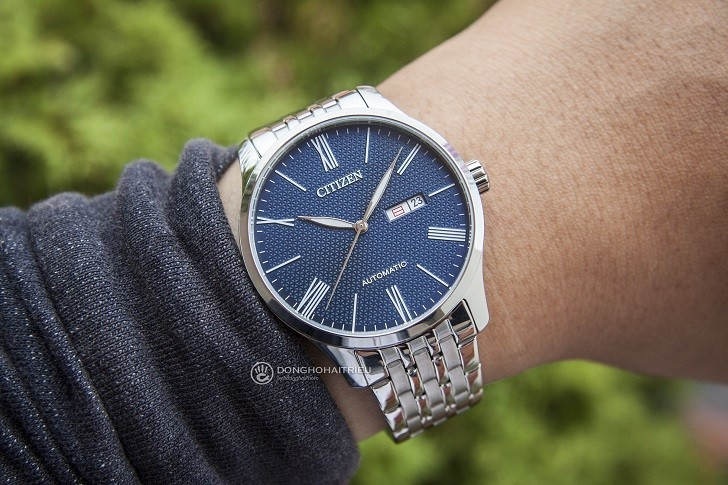 Đồng hồ nam Citizen NH8350-59L automatic, trữ cót 40 giờ - Ảnh 4