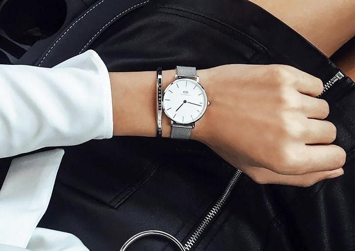 Đồng hồ Daniel Wellington DW00100164 giá rẻ, dây lưới - Ảnh: 6