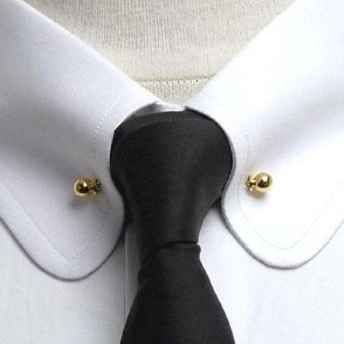 điểm mặt phụ kiện nhỏ phối áo sơ mi trắng công sở nam 5