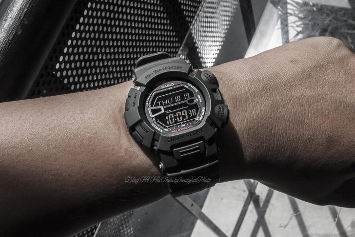 Đồng hồ G-Shock G-9000-3VDR màu đen mạnh mẽ, chống bùn đất - Ảnh 1