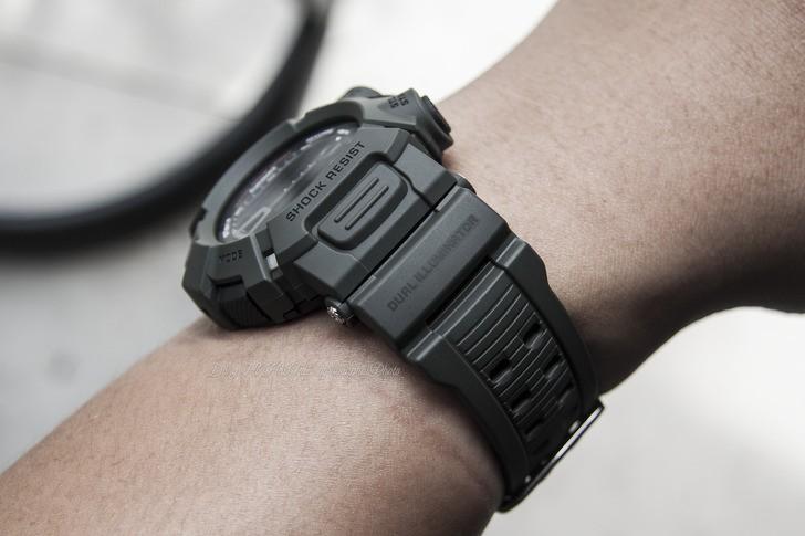 Đồng hồ G-Shock G-9000-3VDR màu đen mạnh mẽ, chống bùn đất - Ảnh 3