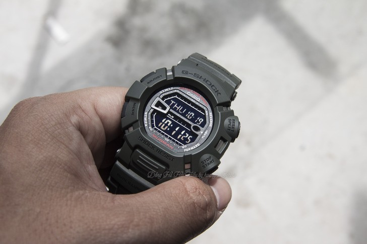 Đồng hồ G-Shock G-9000-3VDR màu đen mạnh mẽ, chống bùn đất - Ảnh 2