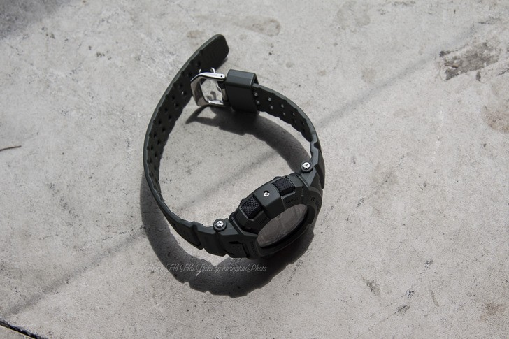 Đồng hồ G-Shock G-9000-3VDR màu đen mạnh mẽ, chống bùn đất - Ảnh 4