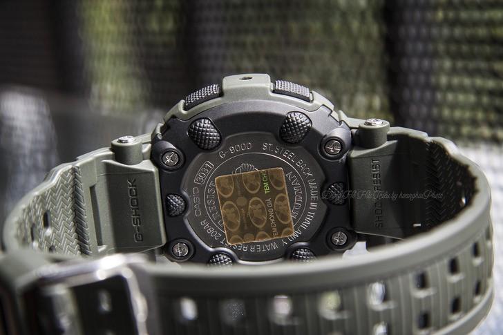 Đồng hồ G-Shock G-9000-3VDR màu đen mạnh mẽ, chống bùn đất - Ảnh 5