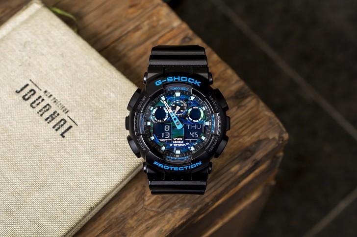 Đồng hồ G-Shock GA-100CB-1ADR tích hợp nhiều tính năng thể thao - Ảnh 1