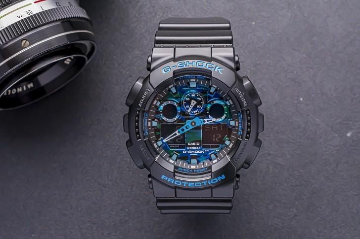 Đồng hồ G-Shock GA-100CB-1ADR tích hợp nhiều tính năng thể thao - Ảnh 2