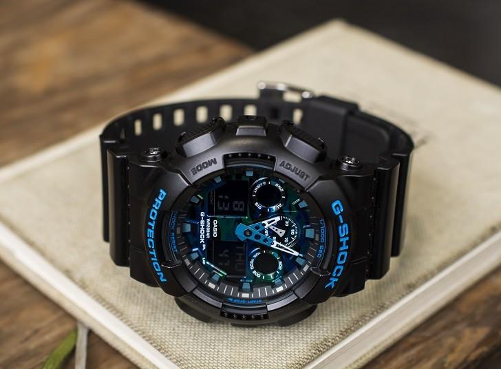 Đồng hồ G-Shock GA-100CB-1ADR tích hợp nhiều tính năng thể thao - Ảnh 3