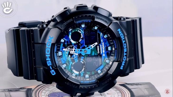 Đồng hồ G-Shock GA-100CB-1ADR tích hợp nhiều tính năng thể thao - Ảnh 6