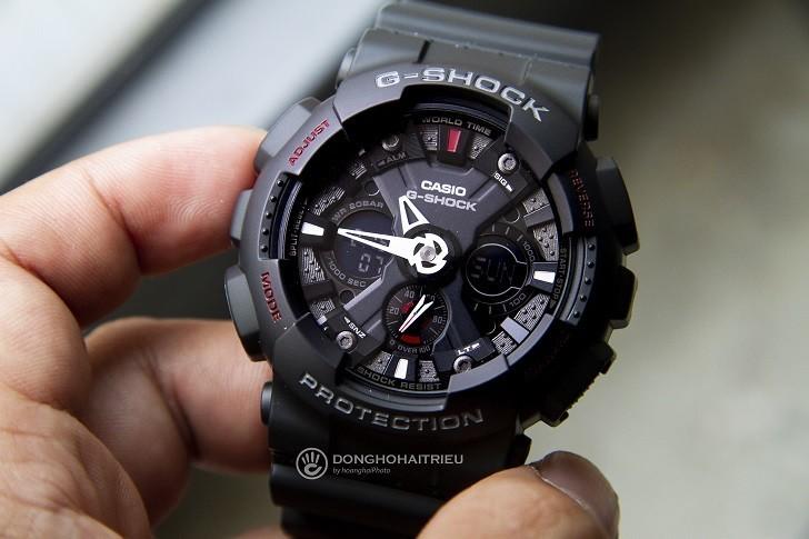 Đồng hồ G-Shock GA-120-1ADR nam giá rẻ, miễn phí thay pin - Ảnh: 1