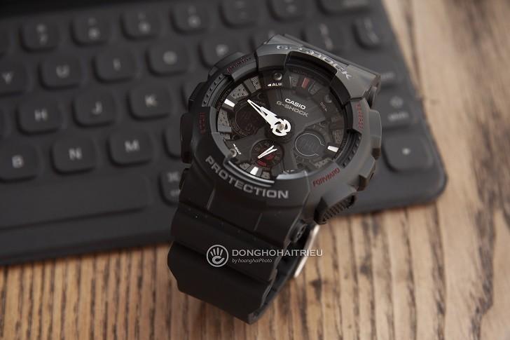Đồng hồ G-Shock GA-120-1ADR nam giá rẻ, miễn phí thay pin - Ảnh: 3