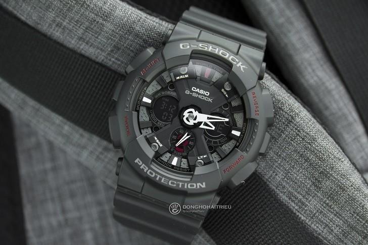 Đồng hồ G-Shock GA-120-1ADR nam giá rẻ, miễn phí thay pin - Ảnh: 6