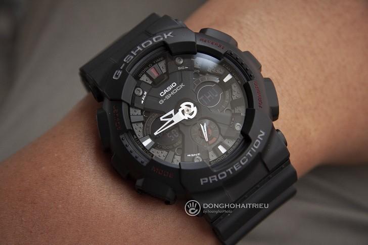 Đồng hồ G-Shock GA-120-1ADR nam giá rẻ, miễn phí thay pin - Ảnh: 5