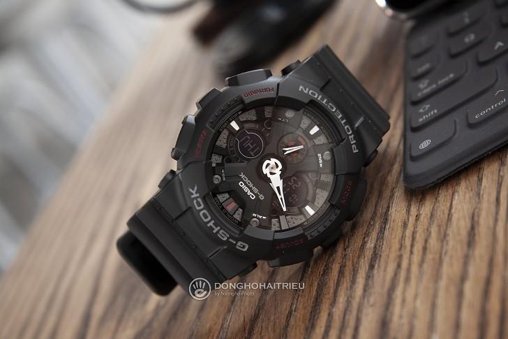 Đồng hồ G-Shock GA-120-1ADR nam giá rẻ, miễn phí thay pin - Ảnh: 7