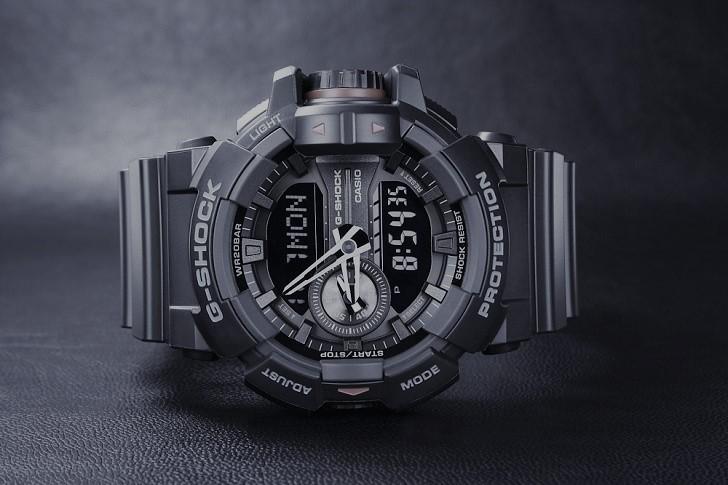 Đồng hồ G-Shock GA-400-1BDR sở hữu nhiều tính năng thể thao - Ảnh 1