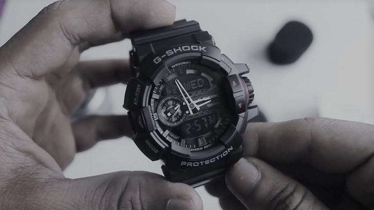Đồng hồ G-Shock GA-400-1BDR sở hữu nhiều tính năng thể thao - Ảnh 2