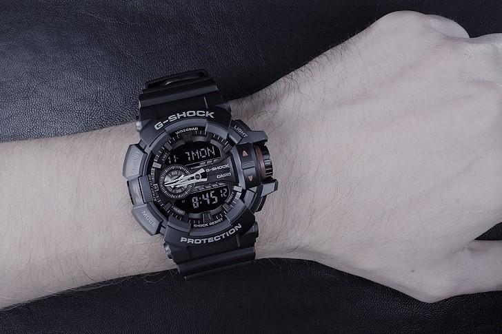 Đồng hồ G-Shock GA-400-1BDR sở hữu nhiều tính năng thể thao - Ảnh 3