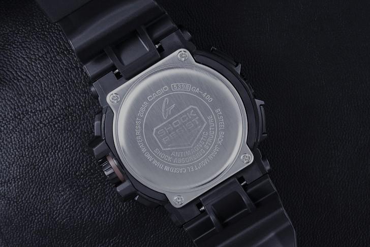 Đồng hồ G-Shock GA-400-1BDR sở hữu nhiều tính năng thể thao - Ảnh 4