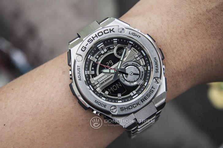 Đồng hồ G-Shock GST-210D-1ADR thể thao, tính năng tiện dụng - Ảnh 1