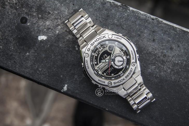 Đồng hồ G-Shock GST-210D-1ADR thể thao, tính năng tiện dụng - Ảnh 2