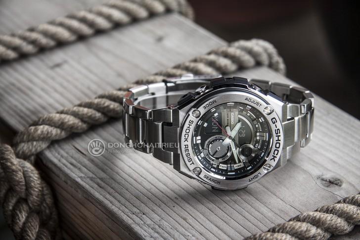 Đồng hồ G-Shock GST-210D-1ADR thể thao, tính năng tiện dụng - Ảnh 3
