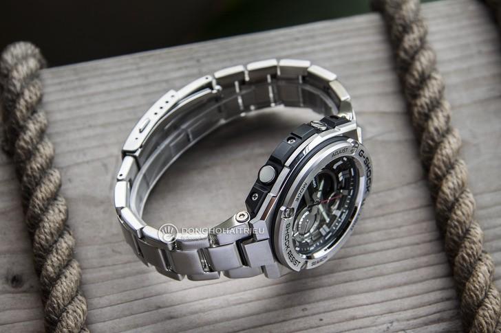 Đồng hồ G-Shock GST-210D-1ADR thể thao, tính năng tiện dụng - Ảnh 5
