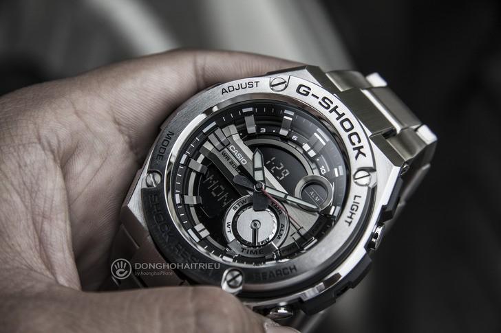 Đồng hồ G-Shock GST-210D-1ADR thể thao, tính năng tiện dụng - Ảnh 6
