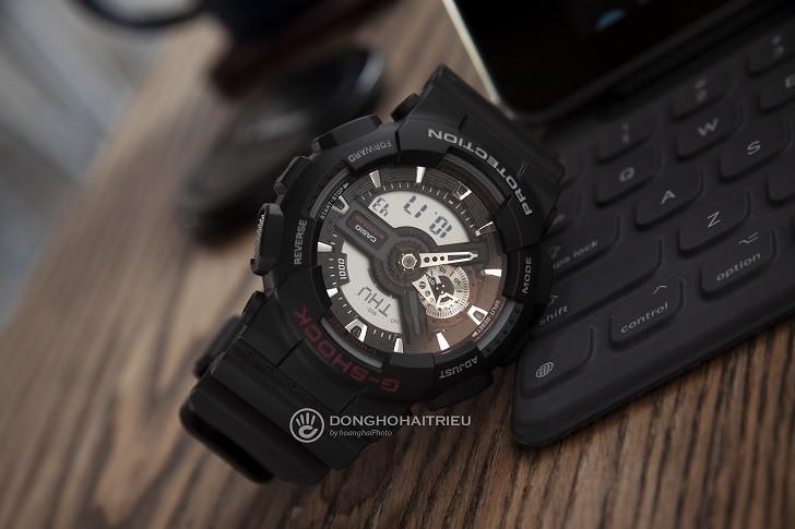 Đồng hồ nam G-Shock GA-110-1ADR giá rẻ, thay pin miễn phí - Ảnh 2