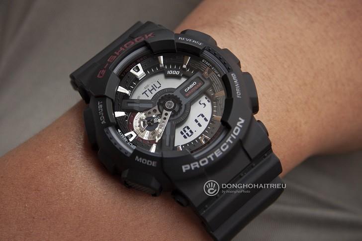 Đồng hồ nam G-Shock GA-110-1ADR giá rẻ, thay pin miễn phí - Ảnh 5