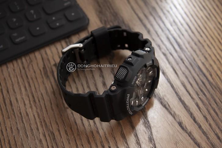 Đồng hồ G-Shock GA-110-1BDR chịu nước 20 ATM thoải mái lặn - Ảnh: 2