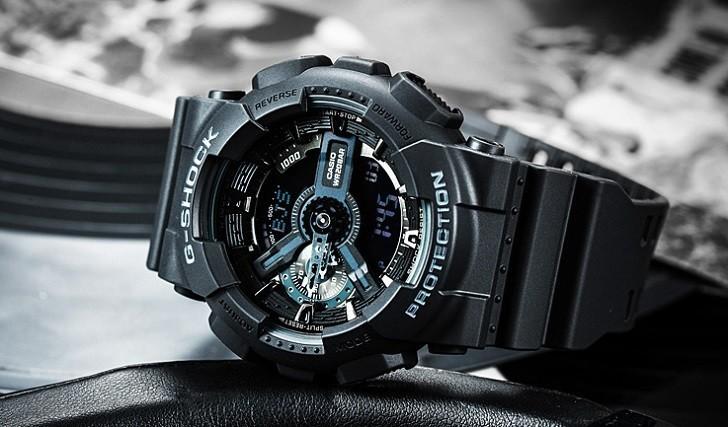 Đồng hồ G-Shock GA-110-1BDR chịu nước 20 ATM thoải mái lặn - Ảnh: 4