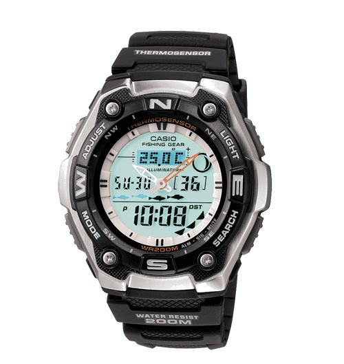 Hướng Dẫn Sử Dụng Đồng Hồ Câu Cá Casio Fishing Gear AQW101-1AV