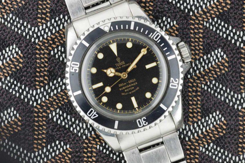 Lịch Sử Vòng Bezel Xoay Trên Đồng Hồ Lặn Và Công Dụng Ban Đầu Tudor Submariner Pointed Guard Gilt Dial Ref. 7928