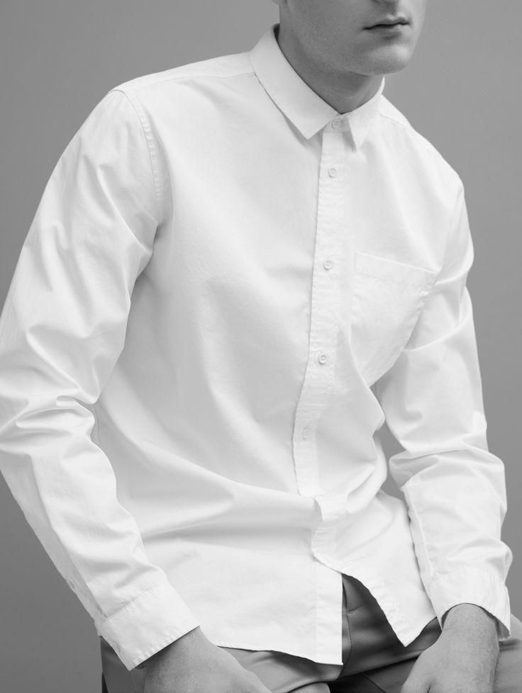 lợi ích của chiếc áo sơ mi trắng công sở nam