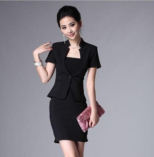 mẫu váy vest công sở đẹp ứng dụng ngay cho chị em 10