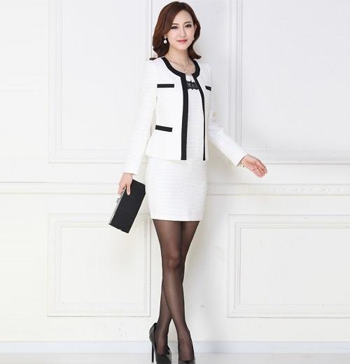 mẫu váy vest công sở đẹp ứng dụng ngay cho chị em 2