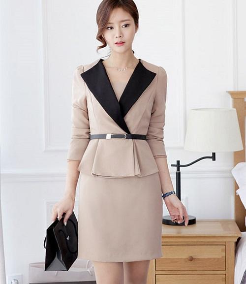 mẫu váy vest công sở đẹp ứng dụng ngay cho chị em 7