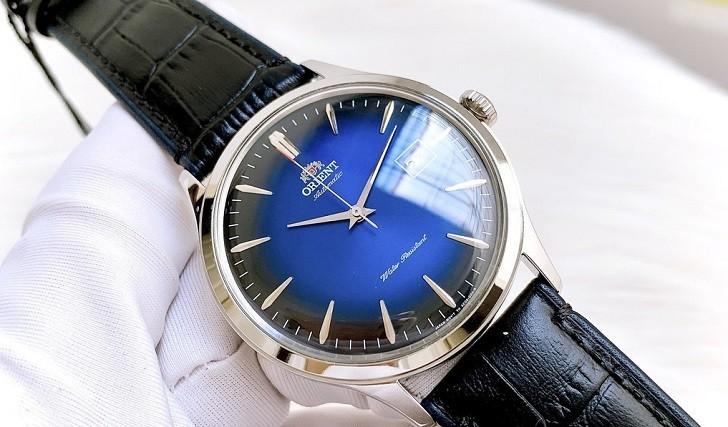 Đồng hồ Orient FAC08004D0 mặt xanh ấn tượng, máy cơ tự động - Ảnh 2