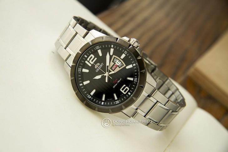 Đồng hồ Orient FUG1X001B9: Thiết kế lịch lãm, máy Nhật - Ảnh 2