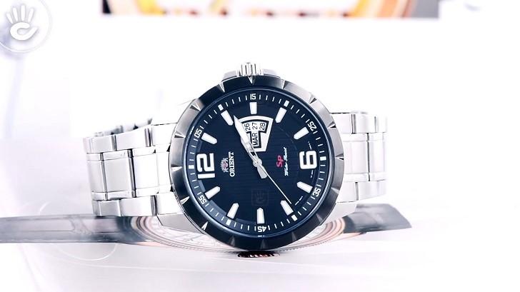 Đồng hồ Orient FUG1X001B9: Thiết kế lịch lãm, máy Nhật - Ảnh 5