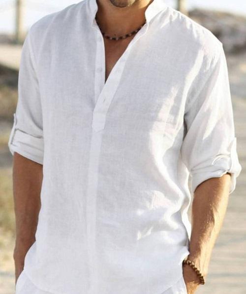 phân loại áo sơ mi trắng công sở nam để thấy sự đa dạng 8