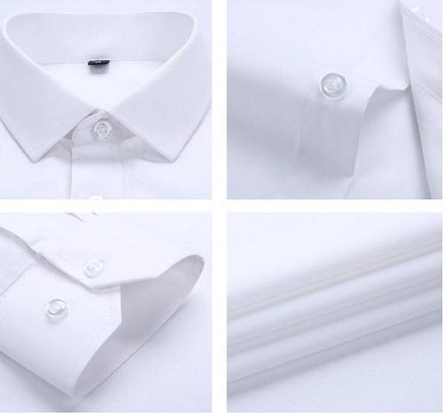 phân loại áo sơ mi trắng công sở nam để thấy sự đa dạng 9