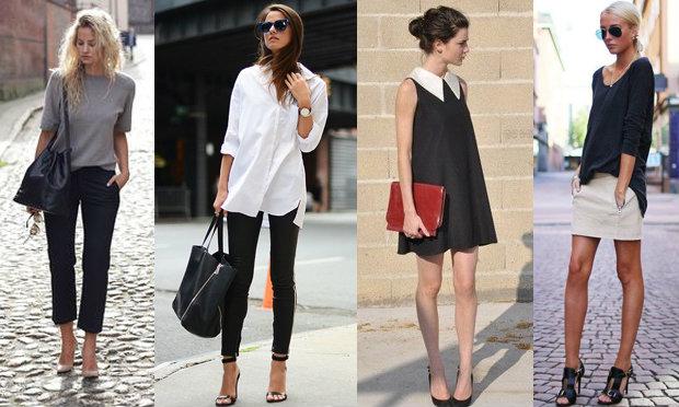 phong cách thời trang tối giản 2