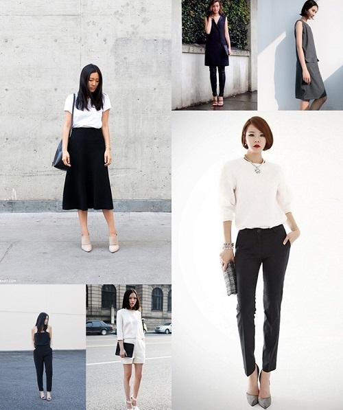 phong cách thời trang tối giản 9