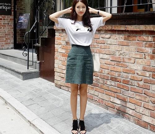 quy tắc cho váy đầm công sở đẹp cho cô nàng chân ngắn 1