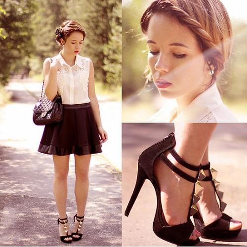 top những đôi giày phối váy đầm công sở đẹp 1