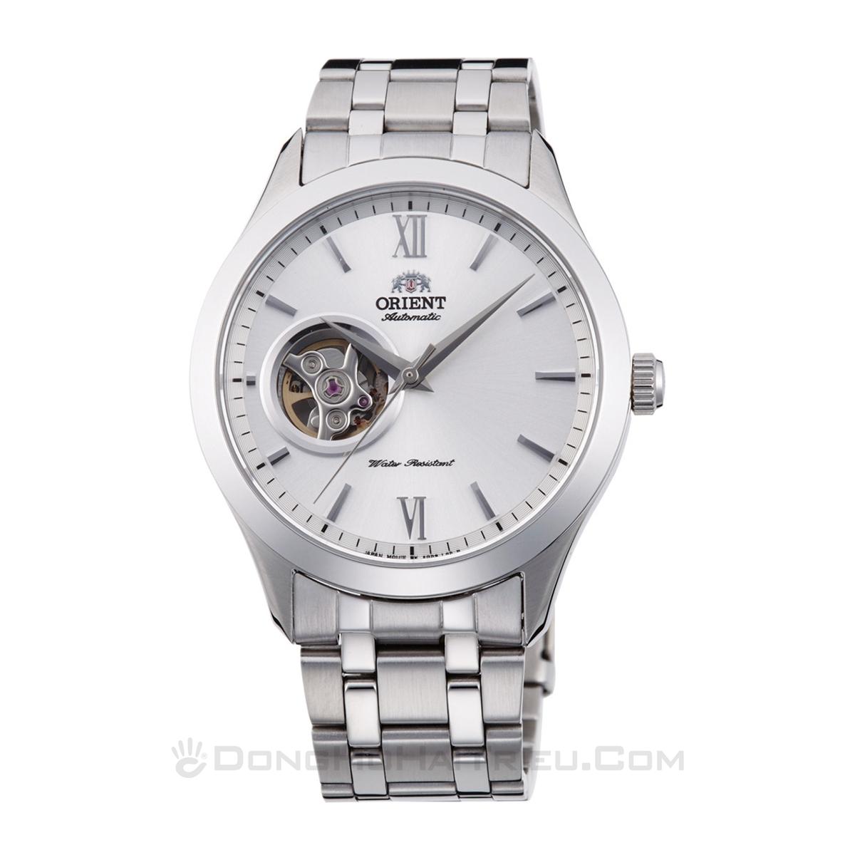 Top 15 đồng hồ Open Heart từ 3 hãng hàng đầu Nhật Bản - Ảnh: Orient FAG03001W0