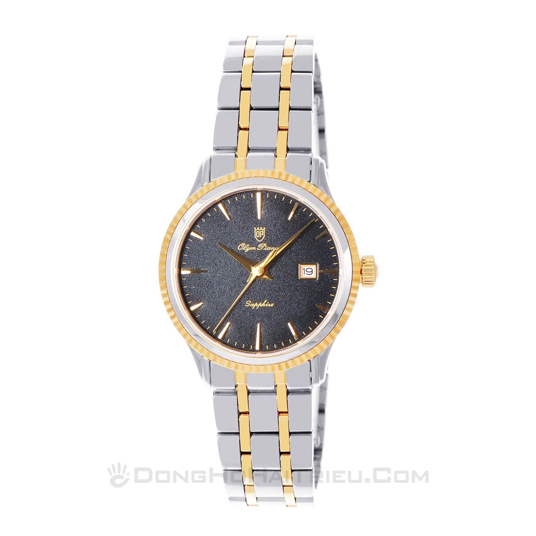 Tổng hợp 30 mẫu đồng hồ nữ mặt nhỏ dưới 29mm bán chạy nhất - Ảnh: Olym Pianus (Olympia Star) 5695LSK-D